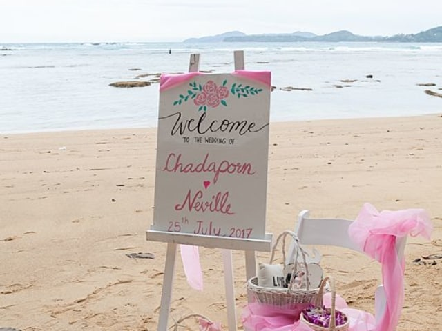 Hua Beach Wedding For Chadaporn & Neville July 2017 Unique Phuket Wedding Planners 5
