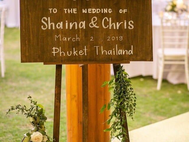 Christopher & Shaina Villa Aye Wedding, 2nd March 2019 991 Unique Phuket