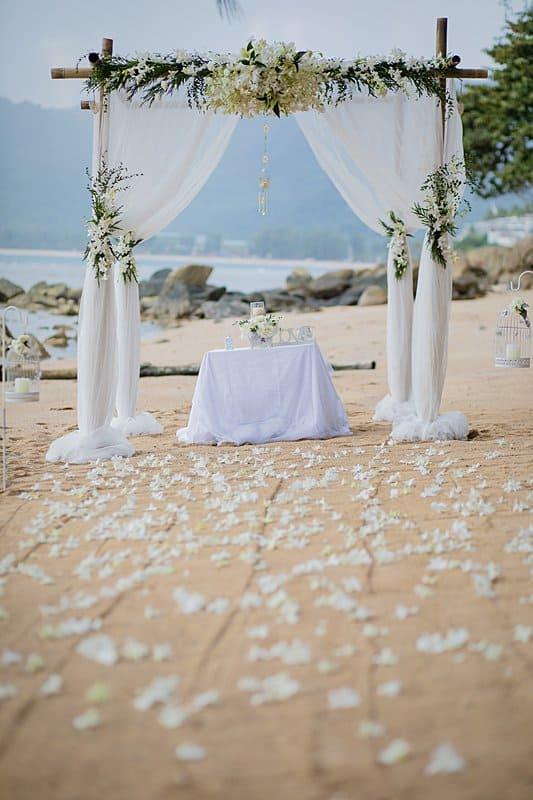 Unique Phuket Wedding Planners Hua Beach Wedding Sep 2017 27