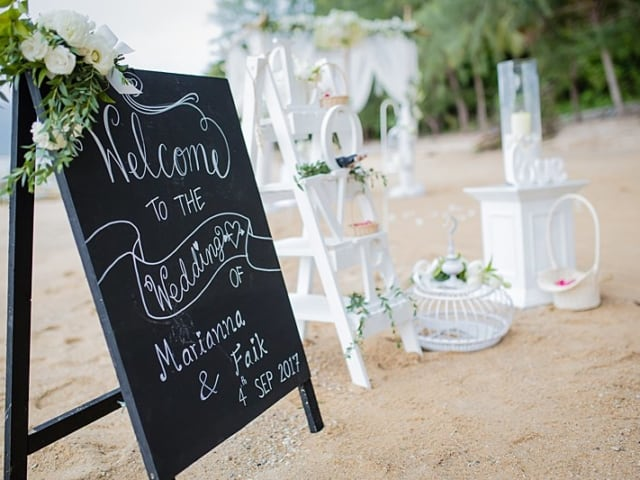 Unique Phuket Wedding Planners Hua Beach Wedding Sep 2017 13