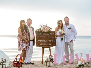 Unique Phuket Patrycja & Jochem 30th December 2017 ,layan Beach Image 0001 223