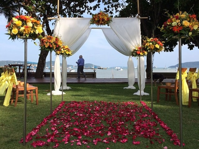 Wedding Flowers Phuket November 2017 4