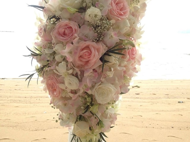 Wedding Flowers Phuket November 2017 8