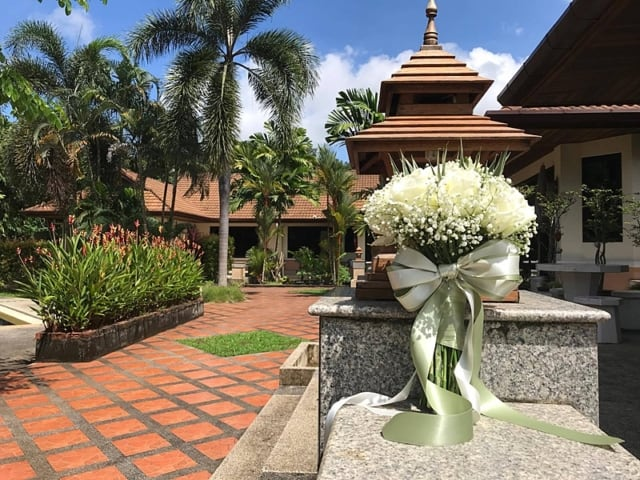 Wedding Flowers Phuket November 2017 9