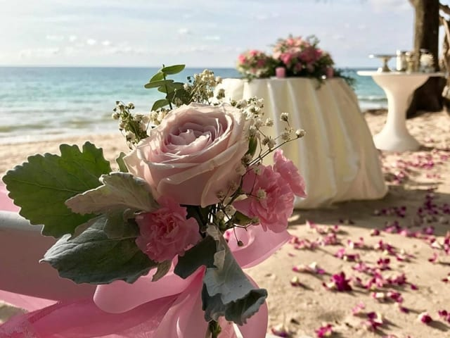 Wedding Flowers Phuket November 2017 10