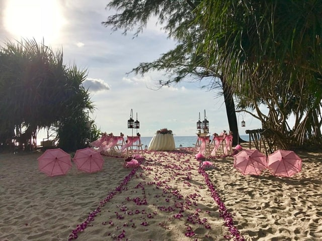 Wedding Flowers Phuket November 2017 14