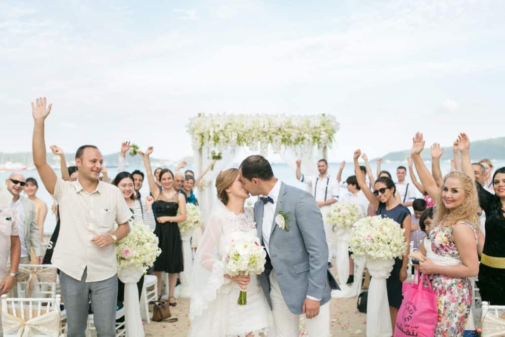 Farshad Mozghan Beach Club Wedding Phuket
