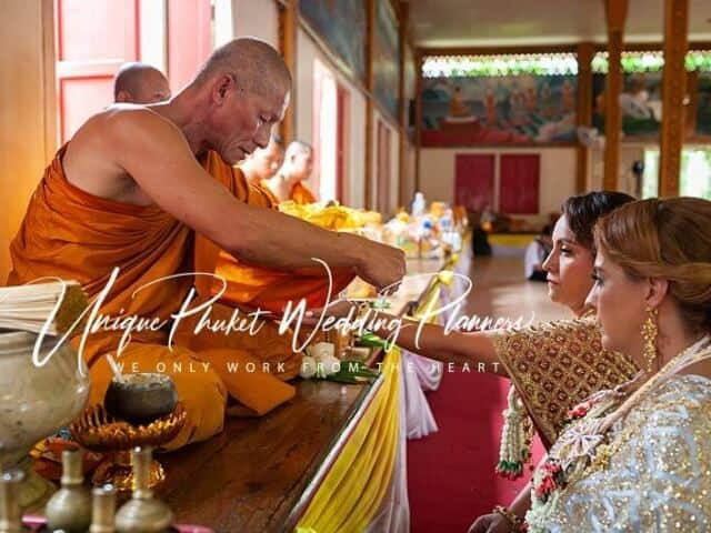 Montse & Fernanda 20th November 2019 Thai Monks Blessing (134)