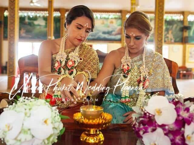 Montse & Fernanda 20th November 2019 Thai Monks Blessing (143)