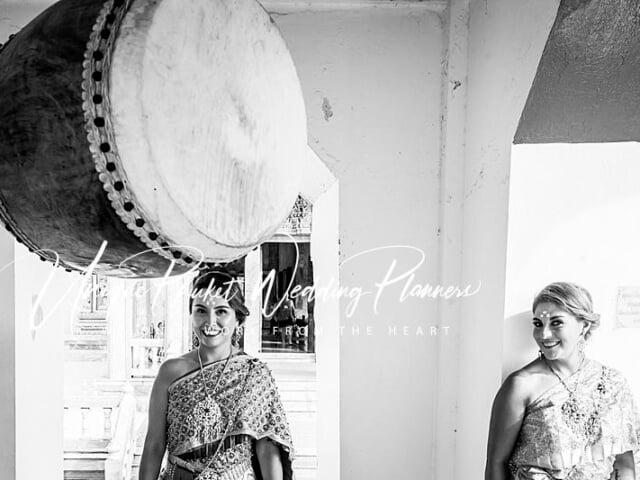 Montse & Fernanda 20th November 2019 Thai Monks Blessing (280)