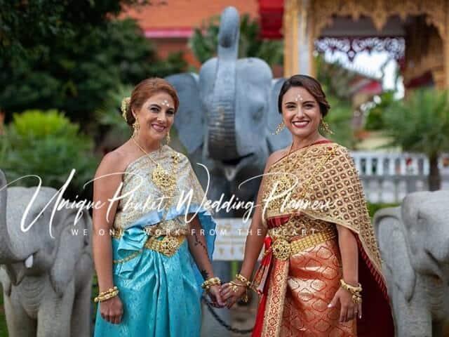 Montse & Fernanda 20th November 2019 Thai Monks Blessing (298)
