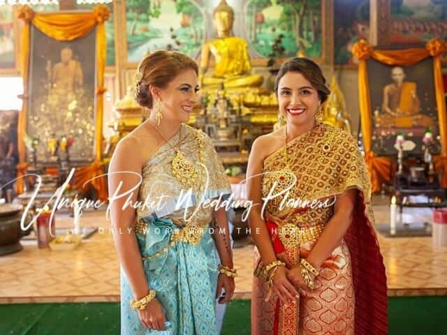 Montse & Fernanda 20th November 2019 Thai Monks Blessing (41)