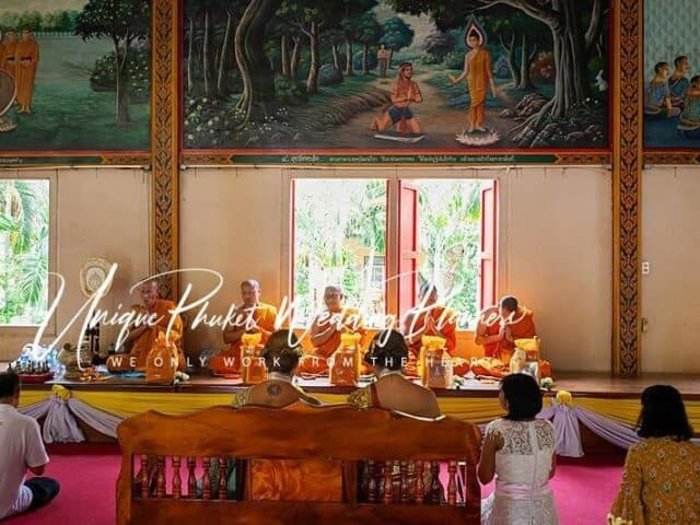 Montse & Fernanda 20th November 2019 Thai Monks Blessing (99)