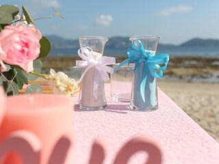 Tanya & Giorgio Beach Wedding 9th March 2019, Thavorn Beach Village 10 Unique Phuket