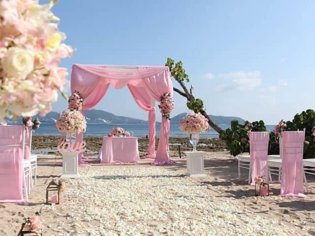Tanya & Giorgio Beach Wedding 9th March 2019, Thavorn Beach Village 11 Unique Phuket