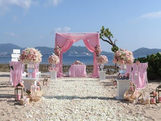 Tanya & Giorgio Beach Wedding 9th March 2019, Thavorn Beach Village 6 Unique Phuket