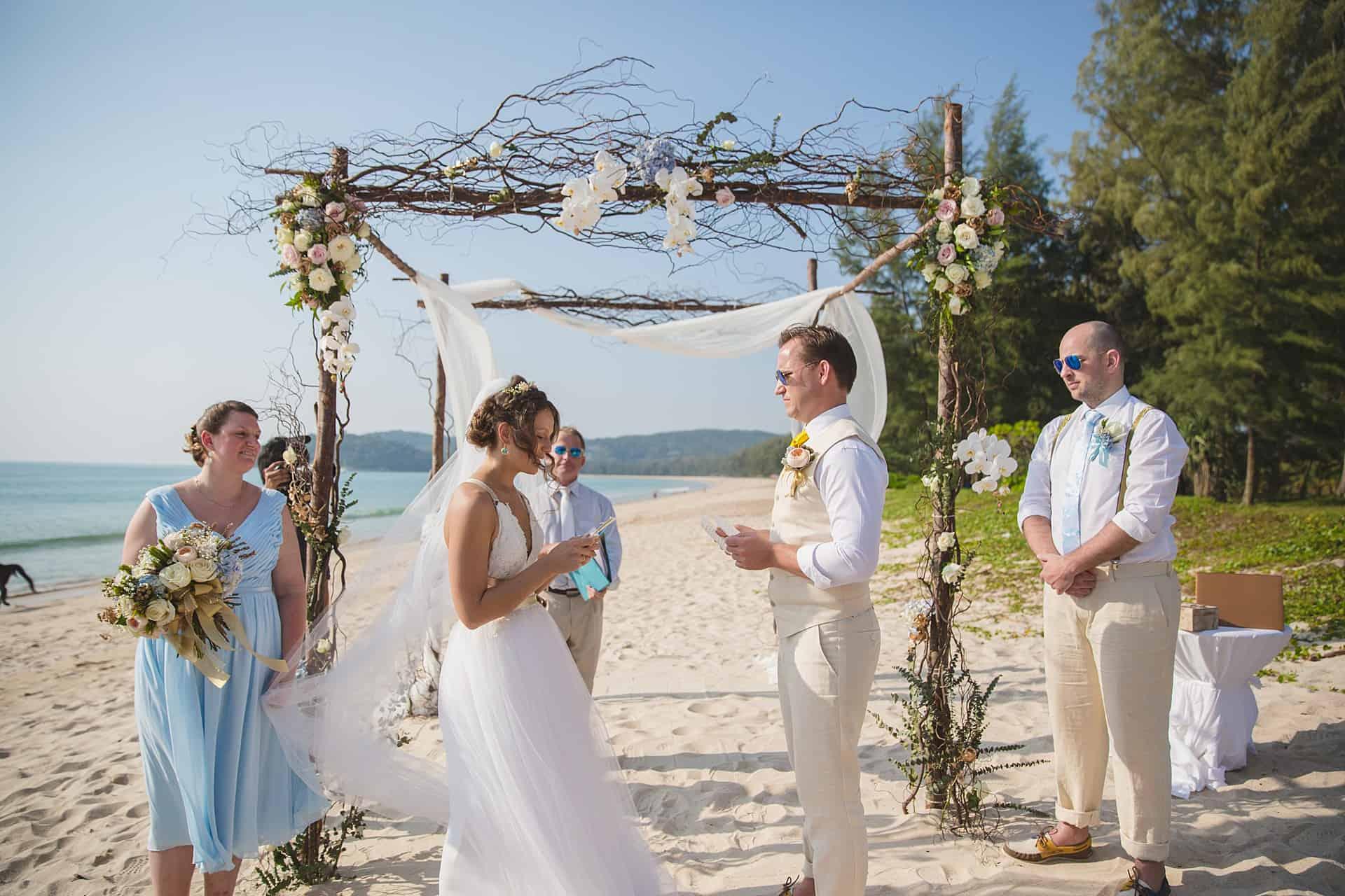 Beach Wedding Unique Phuket 16