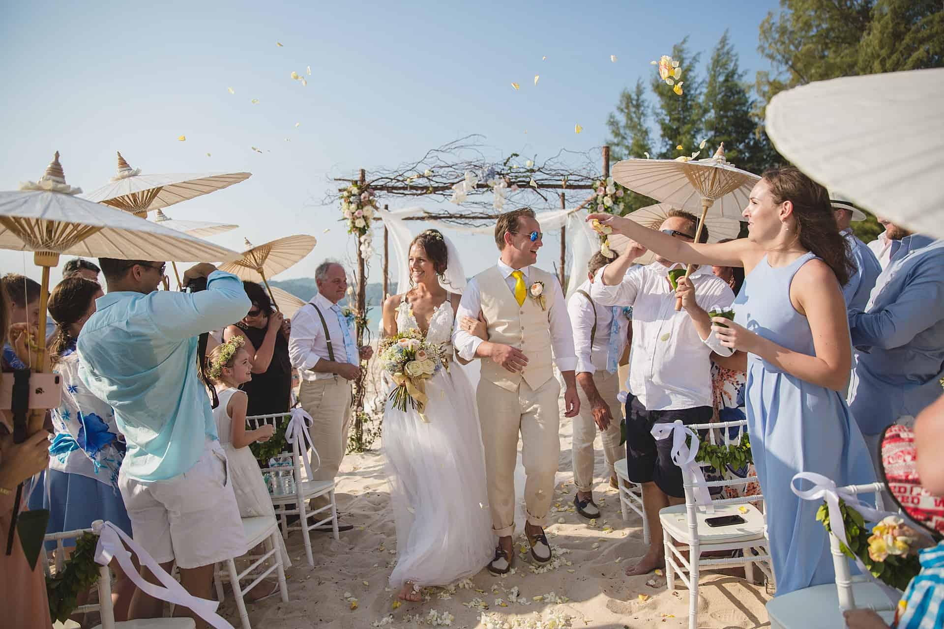 Beach Wedding Unique Phuket 19