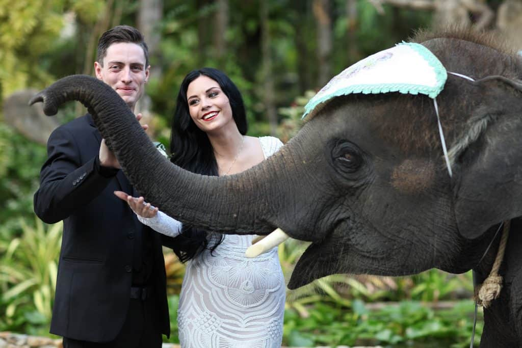 Thavorn Beach Village Garden Wedding