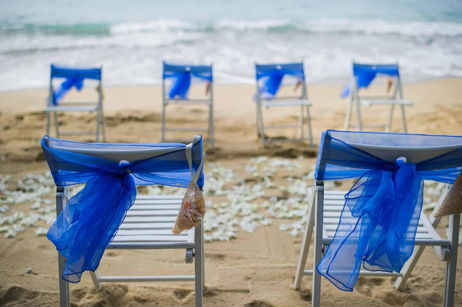 Jennet & Jose Beach Wedding, 18th August 2018, Hua Beach 16