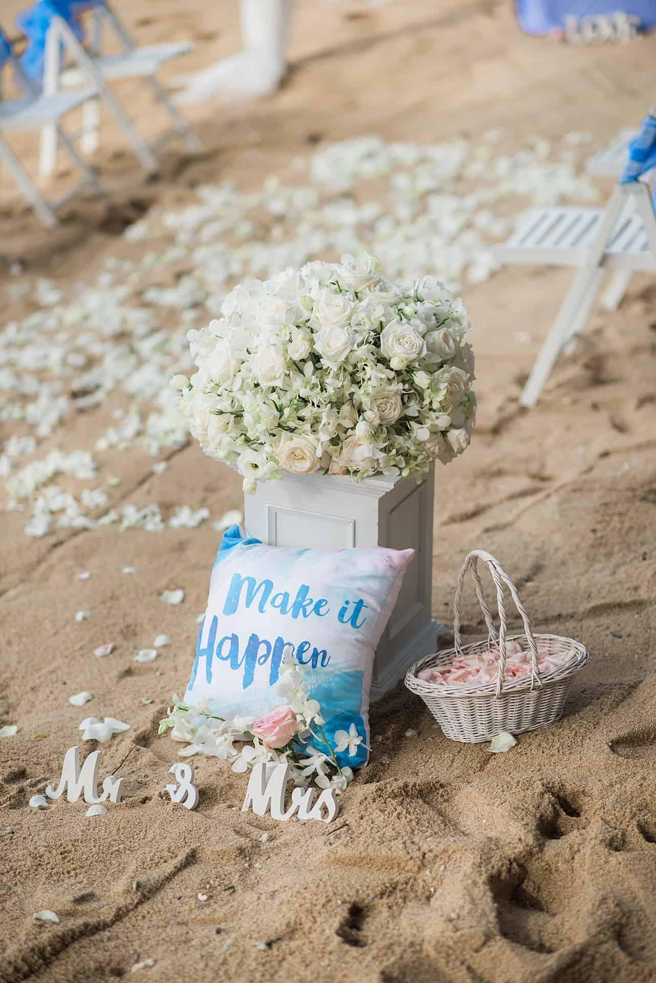 Jennet & Jose Beach Wedding, 18th August 2018, Hua Beach 179