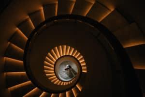 Villa Aquila staircase