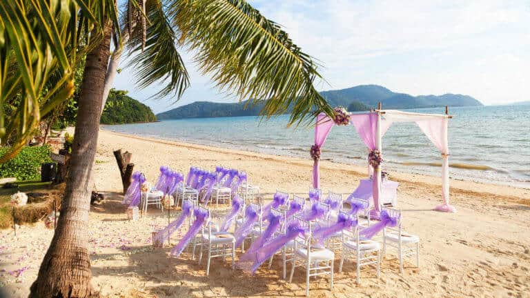 Cropped Phuket Beach Wedding
