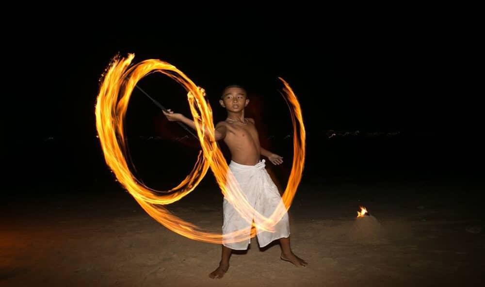 Fire Pre Wedding Phuket