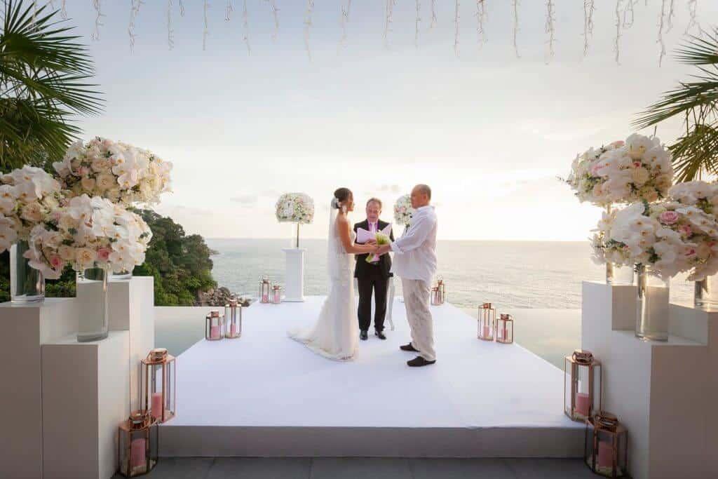 wedding coordinator checklist phuket aquila villa
