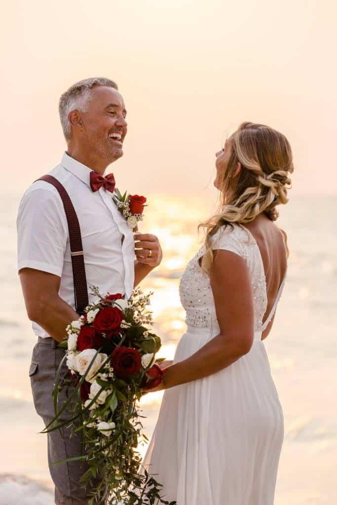Gina & Hasse Beach Wedding 20th Jan 2020 Aleenta Resort Phang Nga 187