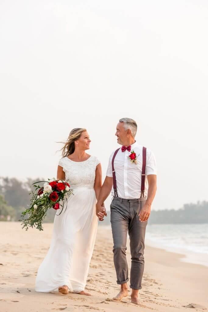 Gina & Hasse Beach Wedding 20th Jan 2020 Aleenta Resort Phang Nga 207