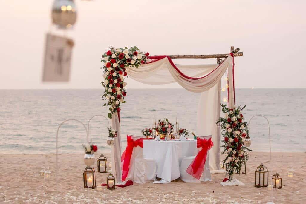 Gina & Hasse Beach Wedding 20th Jan 2020 Aleenta Resort Phang Nga 284